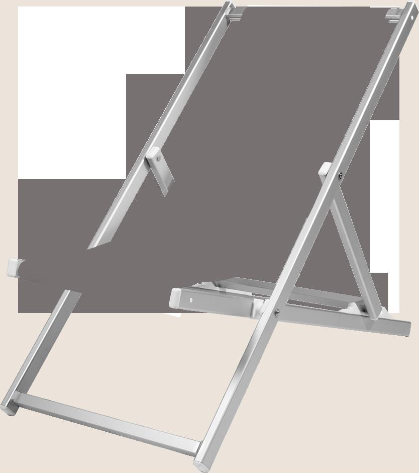 wetterfester liegestuhl aus aluminium. Black Bedroom Furniture Sets. Home Design Ideas